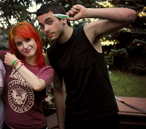 hayley williams, paramore, taylor york
