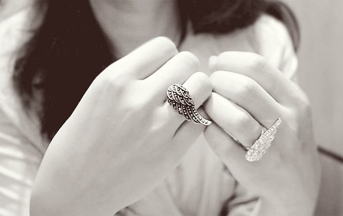 k-fashion, love, rings