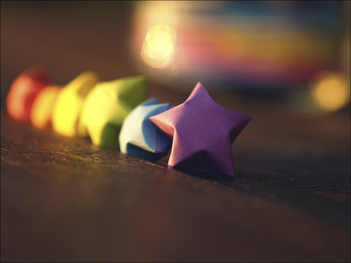 rainbow, star, vute