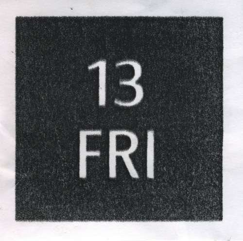 13 friday, 13th, anchor, bed, black