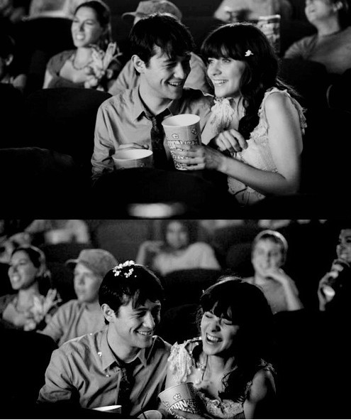 500 days of summer, couple, joseph gordon levitt, love, zooey deschanel