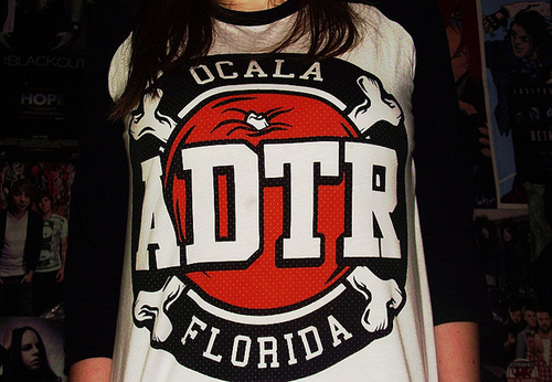 a day to remember, adtr, band, cool, cute, florida, girl, merch, ocala, photo, sweet, t-shirt, text