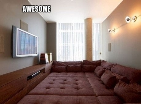 a dream, amazing, awesome, bed, couch, dreams come true, heaven, home, just awesome, love, movies, my dream, omg, yes