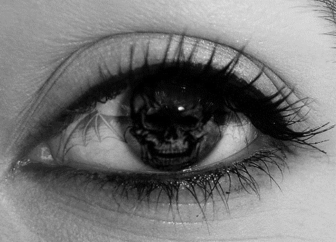 a7x, avenged sevenfold, black and white, eye