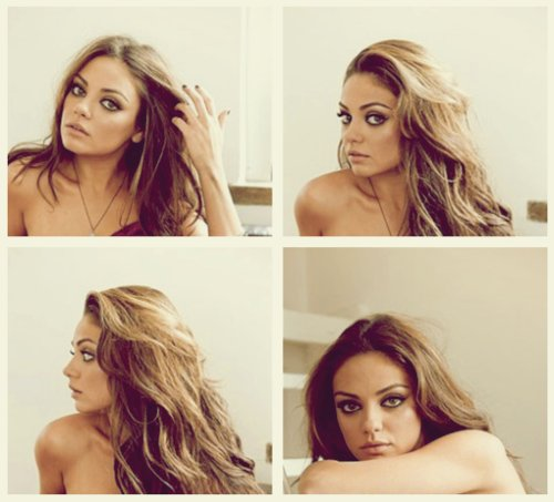 actress, beautiful, brunette, mila kunis, photography