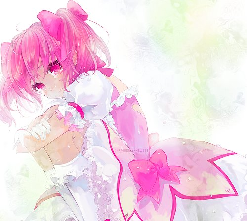 adorable, anime, art, beautiful, crying, cute, girl, mangas, pink, sweet