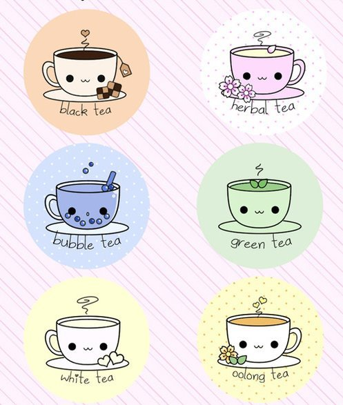 adorable, asian, cup of tea, cute, kawaii