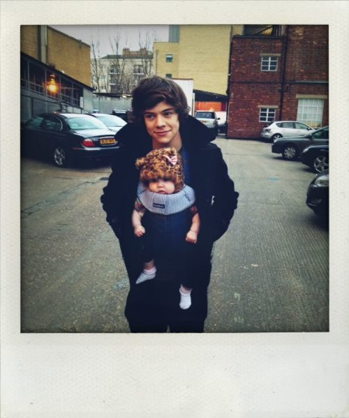adorable, baby, cute, haha, harry styles