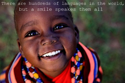 african, boy, cute, language, languages, quote, smile, sweet, world