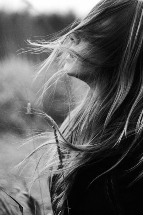 air, beautiful, black, blackandwhite, breathe, girl, grey, hair, nature, photo, photography, picture, pretty, white, woman