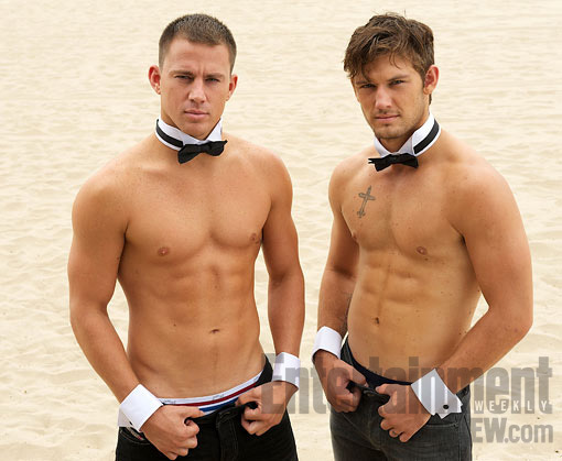 alex pettyfer, channing tatum, guys, hot, hot guys, shirtless, strippers