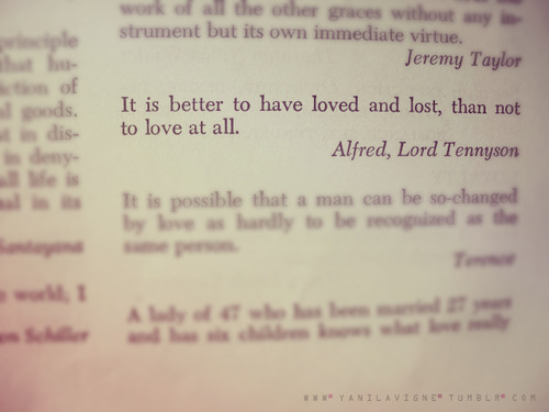 alfred, book, lost, love, quote