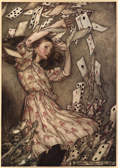 alice, alice in wonderland, amazing, card, cards, draw, fairytale, lewis caroll, the mad hatter, true