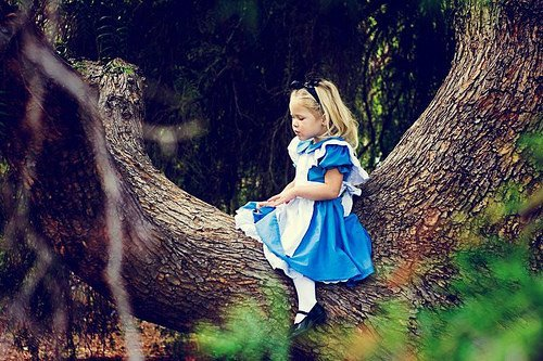 alice in wonderland, child, cute