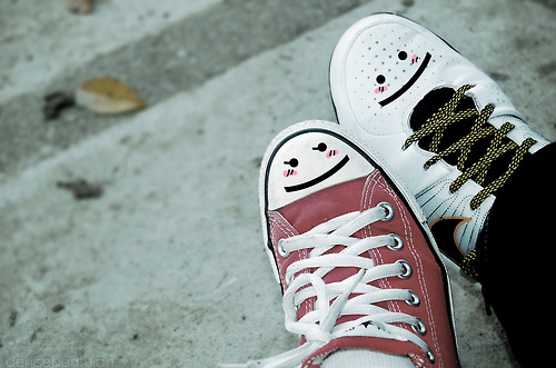all star, converse, cool, cute, red, smiley, sneakers, street, urban, white