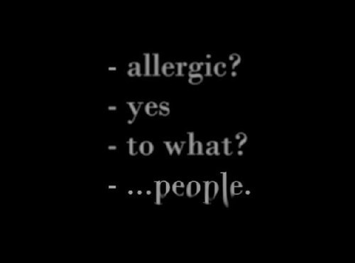 allergic, people, text, true story