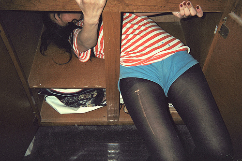 alone, brunette, clothes, clumsy, girl, legs, photo, photography, skinny, thights, vintage, wow, young