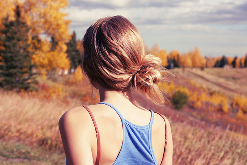alone, cabelo, campo, foto, girl, hair, menina, mulher, mythoughtsandmyself