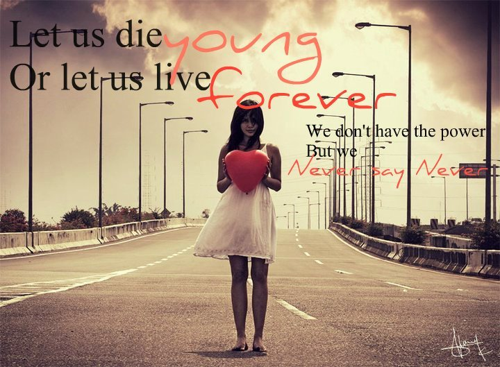 alone, death, die, dress, forever young