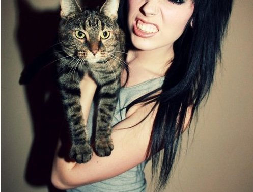 alternative, cat, cute, emo, girl, indie, pretty, scene