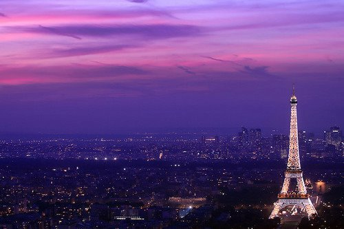 amazing, beautiful, city, eiffel tour, lights, paris, sky