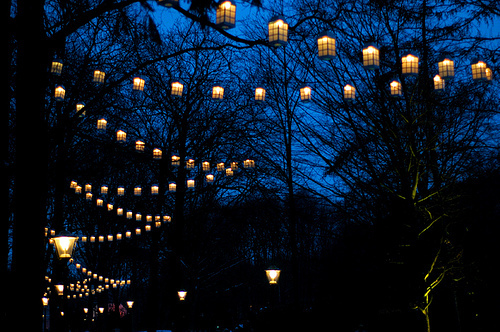 amazing, blue, lanterns, love