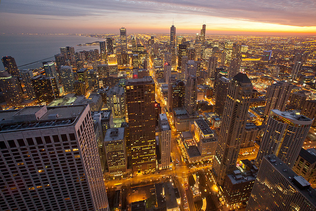 amazing, buildings, chicago, city, fashion
