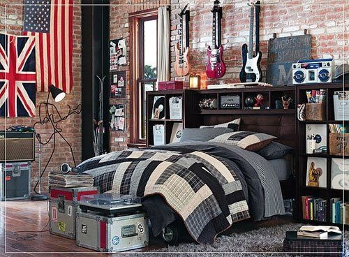 america, american flag, bedroom, cute, eglish flg