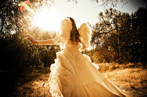angel, beauty, dress, fairy, girl