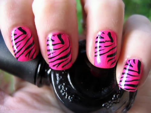 animal print, art, fashion, girly, nail polish