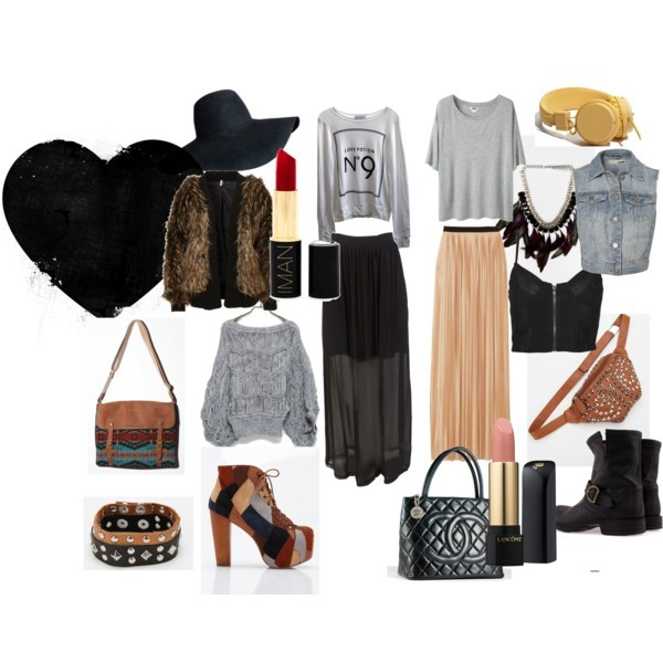 ankle boots, bag, chanel, clock, clothes