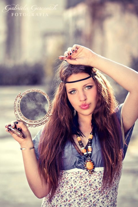 argentina, beautiful, brunette, fashion, girl, hippie, hipster, mirror, sexy, stop it