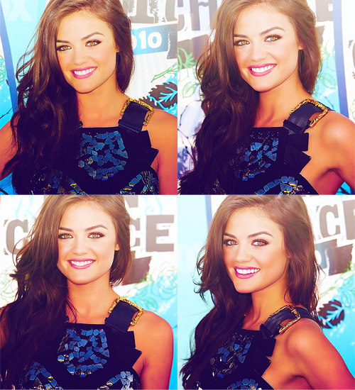 aria, beautiful, girl, lucy hale, photo, pretty, pretty little liars, smile