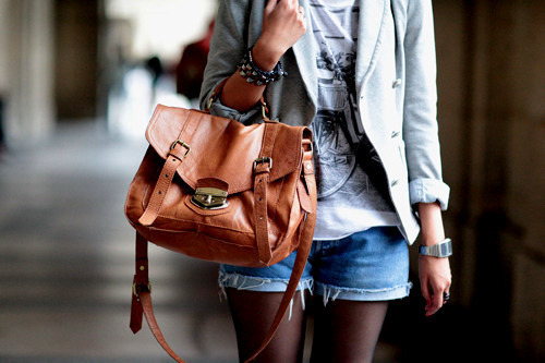 around the teenagers, bag, black, blue, brown