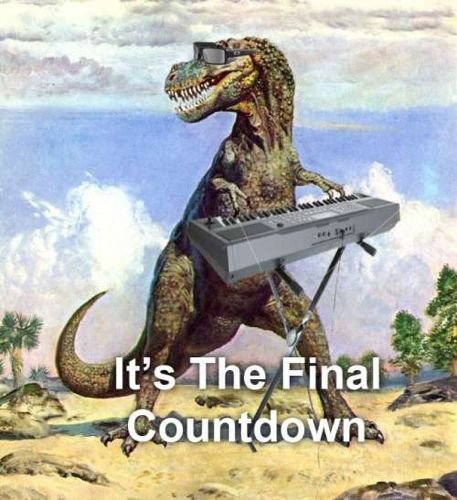 art, beach, cute, dinosaur, funny, haha, hilarious, hipster, indie, lmao, lmfao, lol, piano, sunglasses, the final countdown