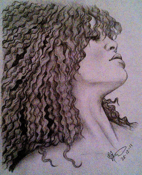 art, drawing, rihanna