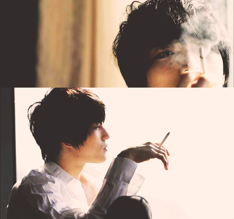 asian, cigarette, dbsk, hot, jaejoon