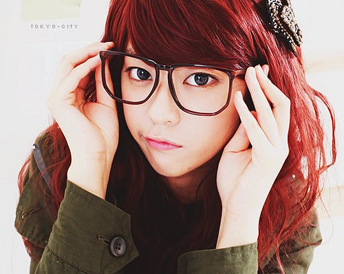 asian, cute, glasses, kawaii, ulzzang