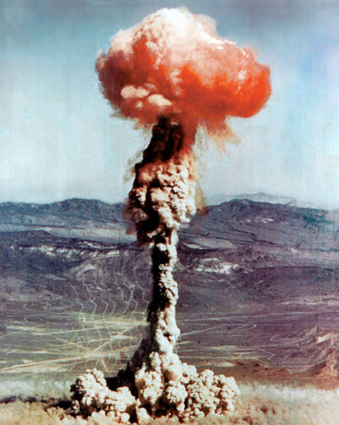 atomic bomb, beautiful, boom, explosion, orange