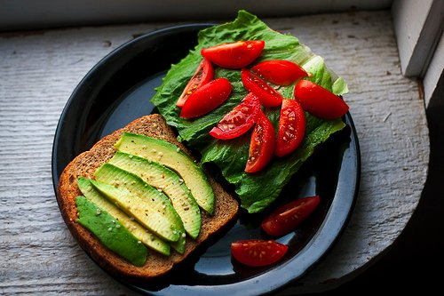 avocado, bread, food, food porn, sandwich, tomato