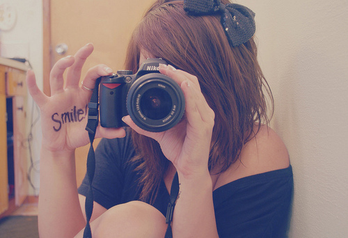 awesome, bow, camera, cool, cute
