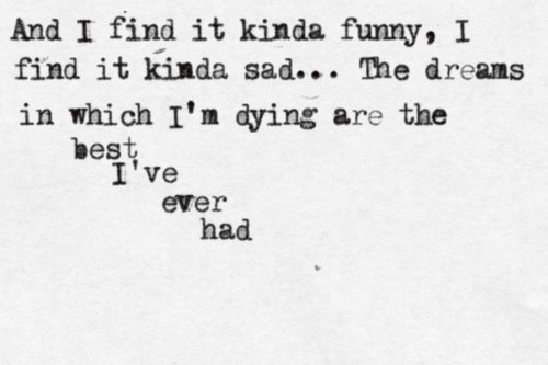 awesome, lyrics, mad world, sad, song, text, words