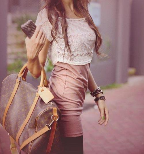 awsome, cool, dress, dressed, girl, iphone, louise, skirt, vuitton