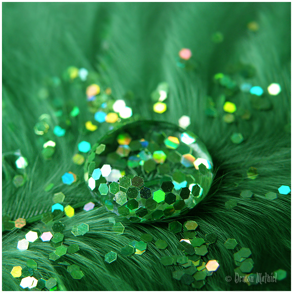 azul, drop, glitter, green, photography