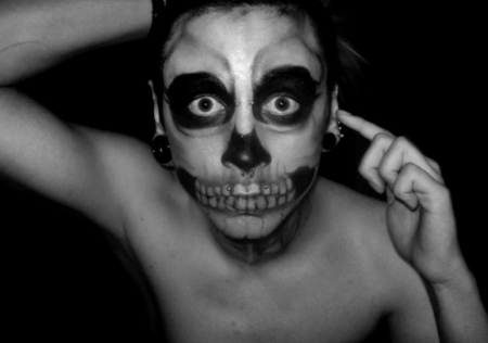 b and w, black and white, body modifications, bodymods, boy