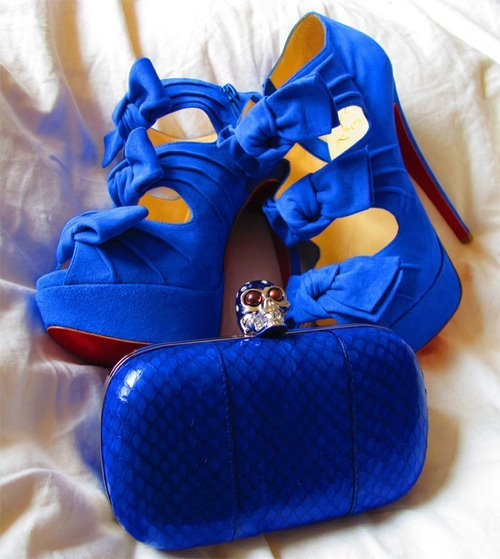 bag, blue, fashion, heels, high heels