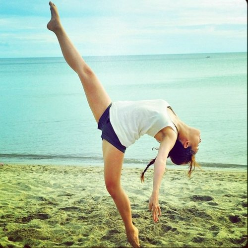 ballerina, ballet, beach, beautiful, cool