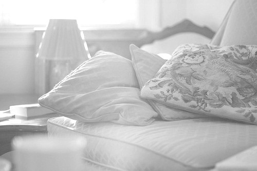 b&w, black & white, black and white, cute, luxury, photo, photography, pillow, place