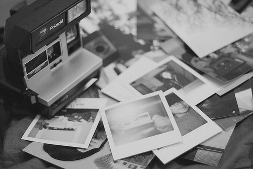 b&amp;w, black and white, camera, memories, photo
