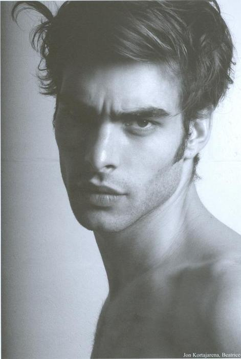 b&w, black and white, handsome, hot, jon kortajarena